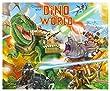 Depesche 8478 - Mal und Stickerbuch Create Your Dino World, mit Stickern, Malbücher