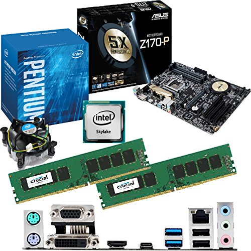 Intel Skylake Core I3 6100 3.7ghz, Asus Z170-p Cpu & Motherboard Bundle (8gb Ddr4 2133mhz) Picture