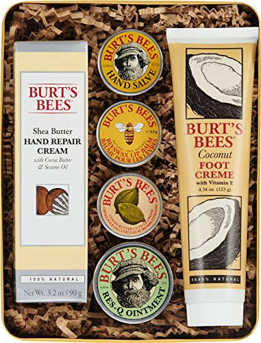 Burt's Bees Classics Gift Set, 6 Products in Giftable Tin