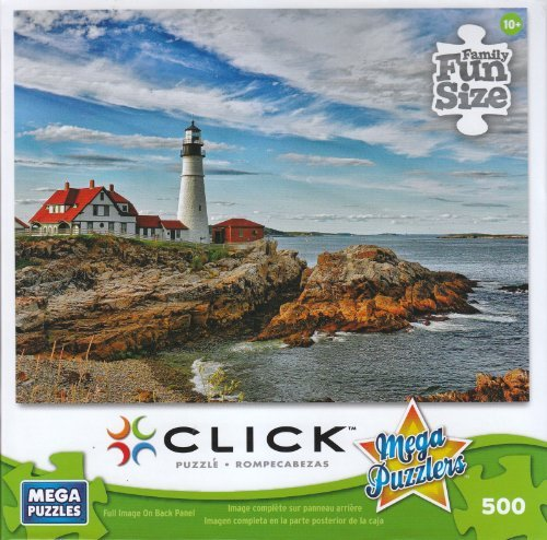Cape Elizabeth Lighthouse 500 Piece Puzzle