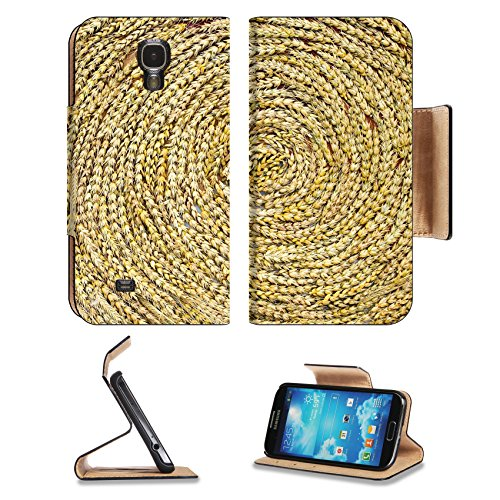msd-premium-samsung-galaxy-s4-flip-pu-leather-wallet-case-a-golden-weed-weave-art-in-autumn-image-36