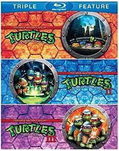 Teenage Mutant Ninja Turtles Teenage Mutant Ninja Turtles Ii The Secret Of The Ooze Teenage Mutant Ninja Turtles Iii Turtles In Time Triple Feature Blu-ray from Warner Home Video