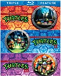 Teenage Mutant Ninja Turtles / Teenage Mutant Ninja Turtles II: The Secret of the Ooze / Teenage Mutant Ninja Turtles III: Turtles in Time (Triple Feature) [Blu-ray]