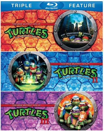 Teenage Mutant Ninja Turtles / Teenage Mutant 2 [Blu-ray]