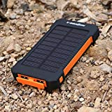 Amazon Com Levin 6000mah Solar Panel Dual Usb Port