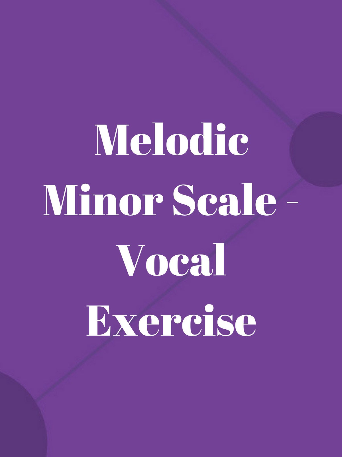 Melodic Minor Scale on Amazon Prime Video UK