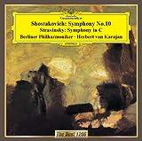 ショスタコーヴィチ:交響曲第10番/ストラヴィンスキー:交響曲 ハ調