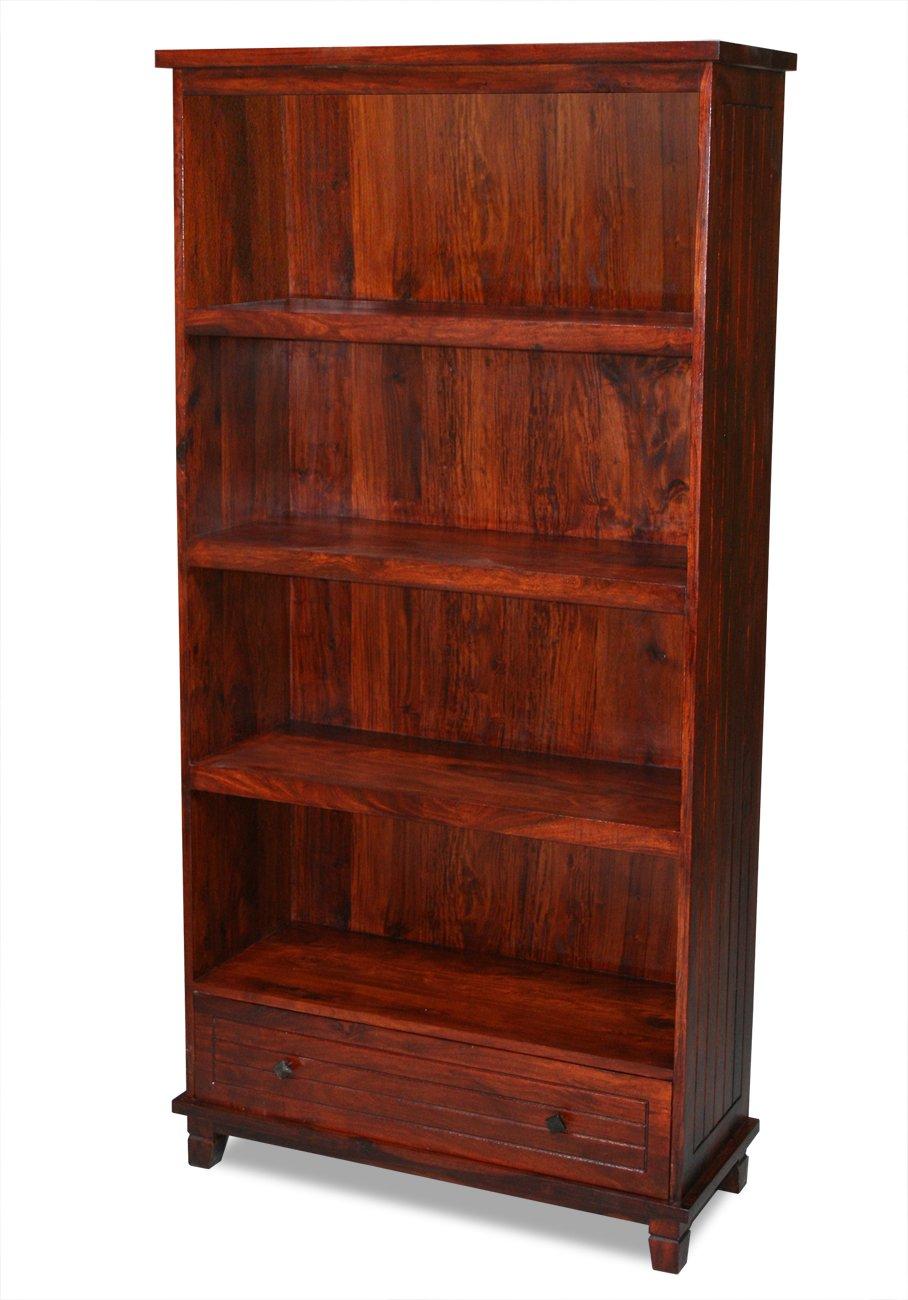 KMH®, India Bücherregal aus Sheesham Holz gefertigt (#202235)  GartenKundenbewertung und Beschreibung
