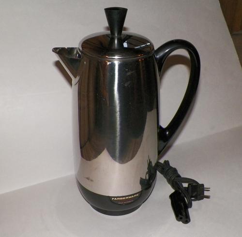 Farberware Coffee Pot Electric Cord : Amazon.com: Farberware Superfast Fully Automatic Electric Percolator with Cord [coffee pot ...