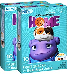 Dreamwork\'s Home Lunch Fruit Snacks Made With Real Fruit Juice Pack Of 2