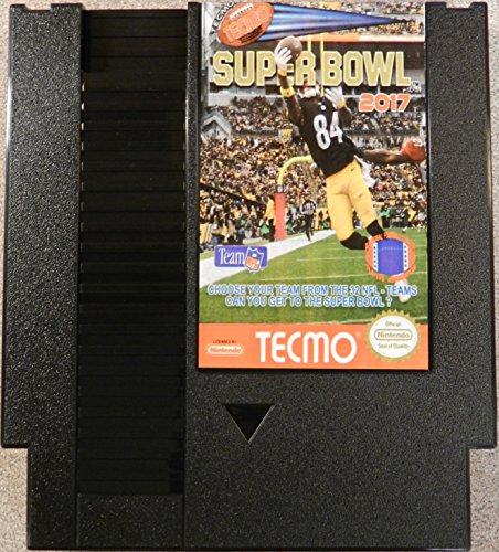 Tecmo Super Bowl 2017 - US Nintendo NES Cartridge (Tecmo Super Bowl compare prices)