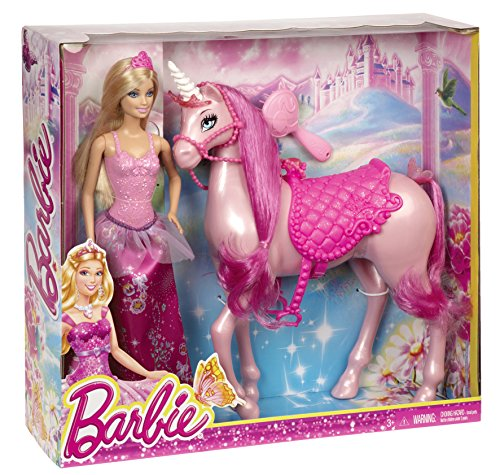 Mattel Barbie BJP46 - Prinzessin und Einhorn,