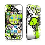 iPhone 4 / 4S skin - Simply Green - High quality precision engineered removable adhesive vinyl skinby DecalGirl