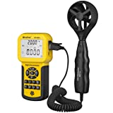 HOLDPEAK HP-856A Digital Anemometer / Thermometer for Air Velocity, Air Flow, Temperature