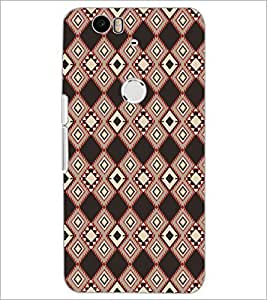 PrintDhaba Pattern D-5223 Back Case Cover for HUAWEI NEXUS 6P (Multi-Coloured)