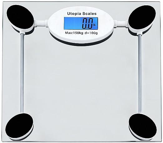 Digital Glass Bathroom Scale - By Utopia Scales