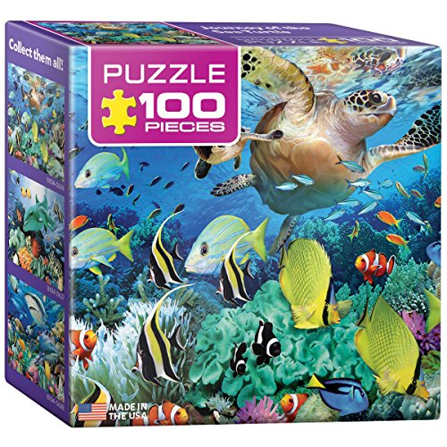 EuroGraphics Journey of The Sea Turtle Mini Puzzle (100-Piece)