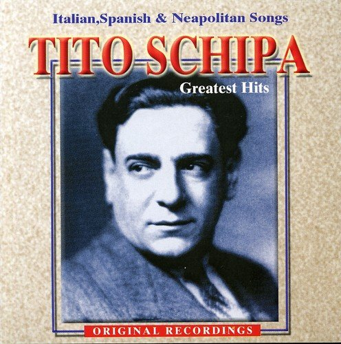 CD : TITO SCHIPA - Italian Songs