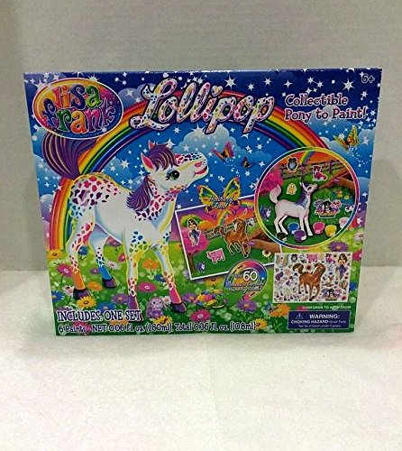 Lisa Frank Lollipop Collectible Pony To Paint Set