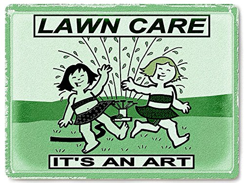 Lawn Care Metal Sign
