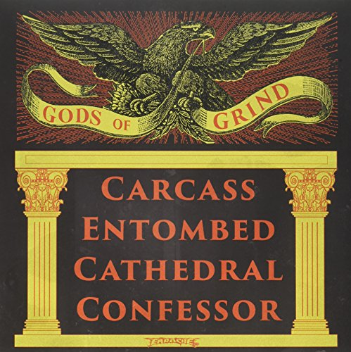 Vinilo : Carcass/Entombed/Cathedral/Con - Gods Of Grind (2PC)