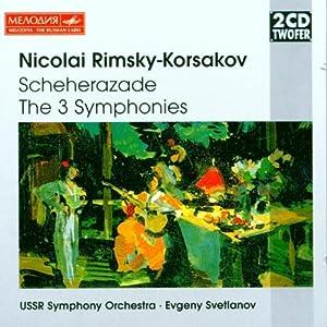 Rimsky-Korsakov: Sheherazade; Symphonies Nos. 1-3
