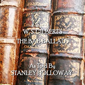 Bab Ballads of WS Gilbert Audiobook