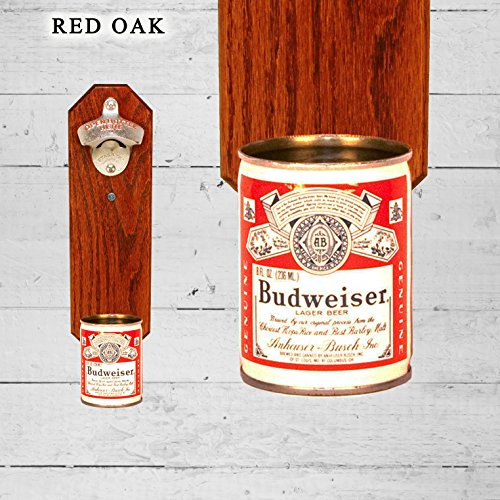 wall-mounted-bottle-opener-with-vintage-budweiser-9oz-beer-can-cap-catcher