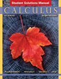 img - for Student Solutions Manual to accompany Calculus: Single Variable, 6e book / textbook / text book