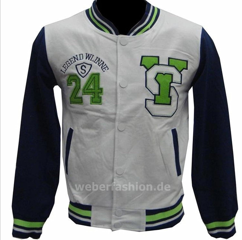Jungen College Jacke Größe 98,104,110,116,128,134 Baseball Jacke Kinder Collegejacke Übergangsjacke viele Modelle und Farben Größe 98-152 günstig online kaufen