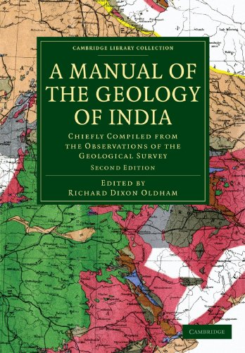 A Manual of the Geology of India Paperback (Cambridge Library Collection - Earth Science)