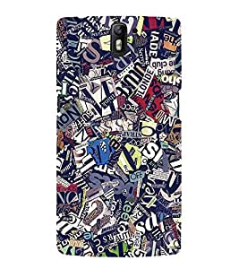 GADGET LOOKS PRINTED BACK COVER FOR ONEPLUS ONE MULTICOLOR