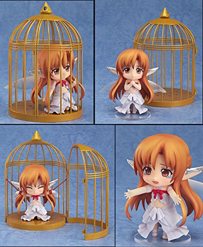 [Asuna Nendoroid Action Figures Titania Sword Art Online Size 4 inches Changeable Head and Arm with] (Megaman Halloween Costume)
