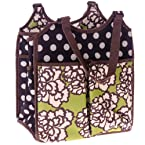 Polka Dot Reversible Garden Bag