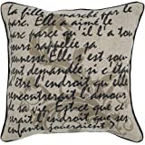 Buy Sell Rizzy Home T4321 18Inch by 18Inch Decorative Pillows BeigeBlack Set of 2 1 10 2013 coupon code 2013