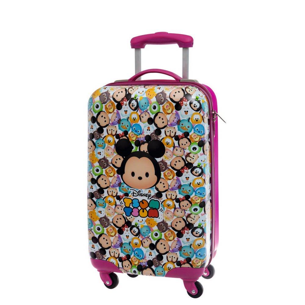Tsum Tsum ABS Kabinenkoffer Kindergepäck, 33 Liter, Pink