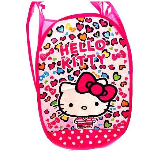 CJB Hello Kitty Foldable Pop Up Hamper Laundry Bag (US Seller)