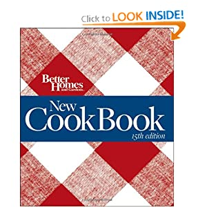 Better Homes and Gardens New Cook Book, 15th Edition (Better Homes & Gardens Plaid)