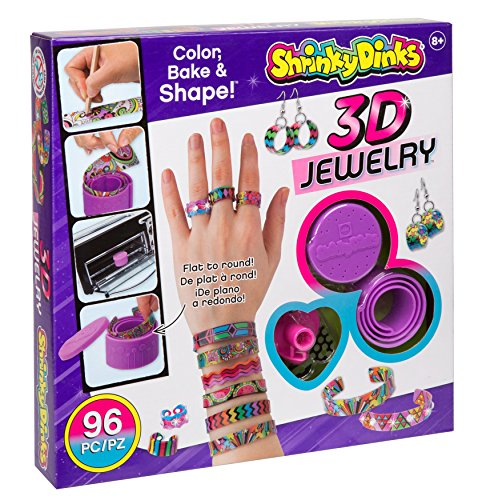 Shrinky Dinks Bake and Shape 3D Jewelry JungleDealsBlog.com