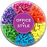 Office+Style Premium Colored Push Pins - 240 pcs