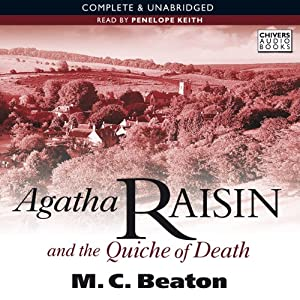 Agatha Raisin and the Quiche of Death Audiobook