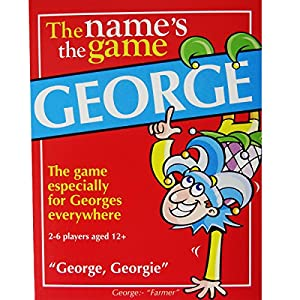 GEORGE'S GAME: Boys stocking filler for boys called George - suitable for men too! Also appropriate as a secret santa or a fun birthday gift idea for men