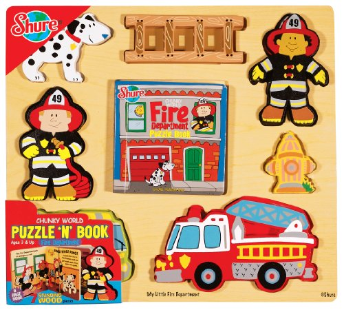 T.S. Shure Chunky World Fire Dept. Puzzy Book