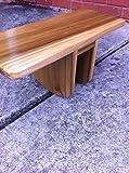 Handmade Pi Meditation Bench Made of Poplar
