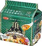 サッポロ一番 頂 とろみ中華 広東風醤油拉麺 5食P