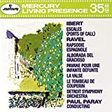 Jacques Ibert: Escales (Ports of Call); Ravel: Rapsodie Espagnole; Alborada del Gracioso; etc.