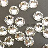 Genuine Swarovski Elements Flat Backs No Hotfix 2058 SS34 - Crystal F (001) ; Diameter in mm: 7.07 - 7.27 ; Packing Unit: 144 pcs.