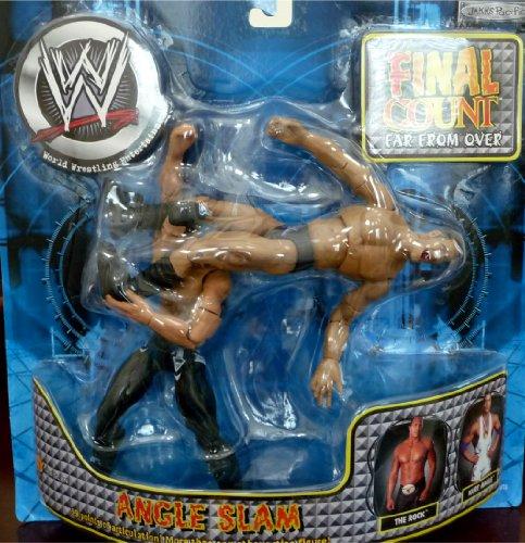 "Buy Low Price Jakks Pacific the ROCK vs. KURT ANGLE WWE Final Count Far From Over ""Angle Slam"" Figures (B004X25QBE)"