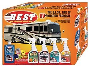 B.E.S.T. 99001 RV Cleaning Kit - 5 Piece from B.E.S.T.