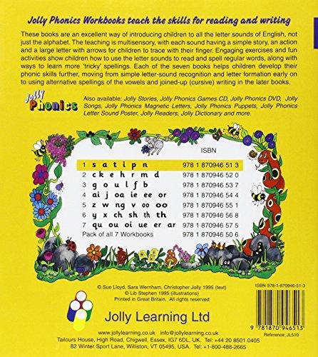 Jolly phonics workbook 1(s a t I pn )